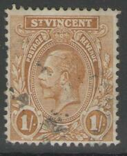 ST.VINCENT SG138a 1927 1/= OCHRE USED