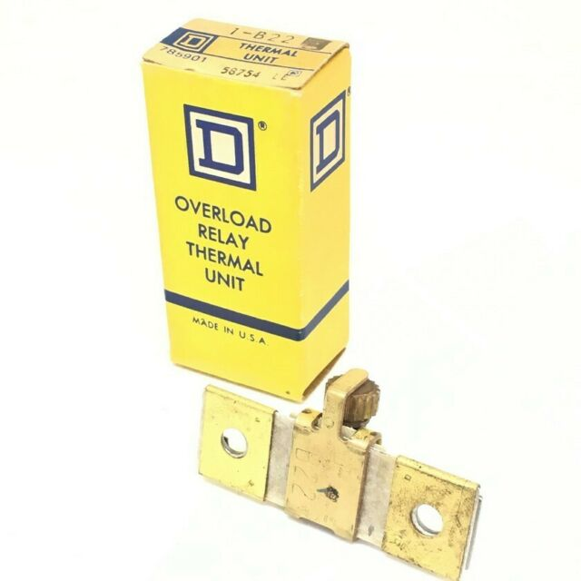 Square D B3.70 Overload Relay Thermal Unit 3-Pack