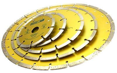 Diamant Scheibe Trennscheibe  Diamantscheibe Ø 115, 125, 180, 230, 300 mm