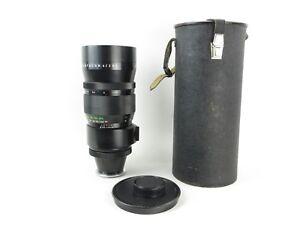 Fuer-Nikon-F-Pentacon-4-300-Objektiv-lens-19-blades-caps-und-case