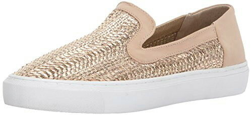 Steven Steve Madden Kenner Casual Sneaker Metallic Rose Gold Slip-On Shoe Sz 8.5
