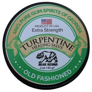 Details about Turpentine Salve Skin repair, Muscle Pain, Nerve Pain,  Eczema, Burns, Psoriasis