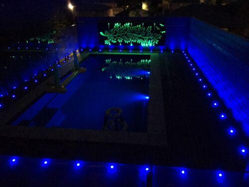 RGBW//RGB 61mm Smart WIFI Controller Timer Dimmer LED Pool Step Soffit Deck Light