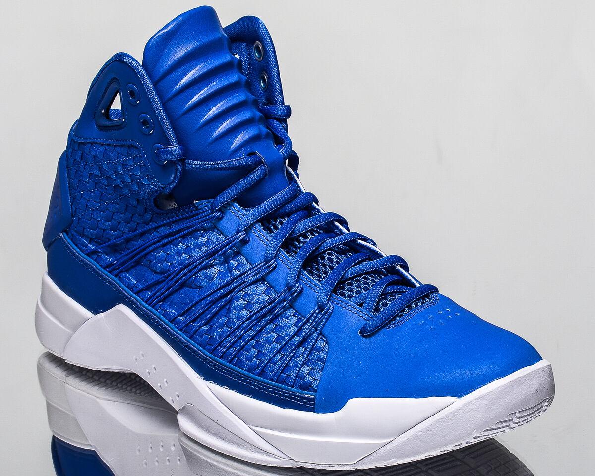 Nike Hyperdunk LUX Hommes Basket Mode De Vie Chaussures 2016 08 nouveau bleu 818137-400