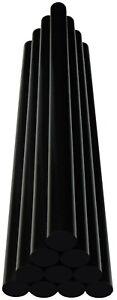 Ausbeul-Heisskleber-10-Klebesticks-schwarz-190-Gramm-ca-200x11-3mm-Hagel