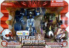 WHIRL vs DECEPTICON BLUDGEON Transformers 2 ROTF Voyager Class Figures TRU 2010