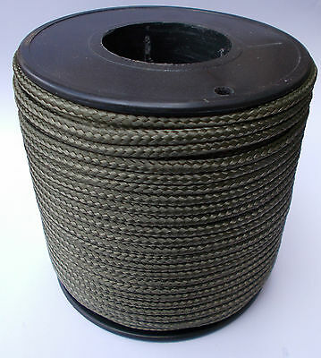 Strong Polypropylene Poly Rope Khaki 4-6mm Washing Clothes Line Pulley PolyRope