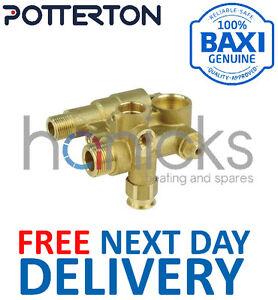 Potterton Promax 28, 33 Il Plus Hydraulique Inlet Assy 5114710 Pièce D'origine * Neuf *-afficher Le Titre D'origine Les Clients D'Abord