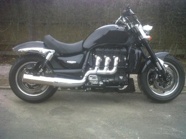 Triumph Rocket 3 Roadster X Custom Silencers For Sale Online Ebay
