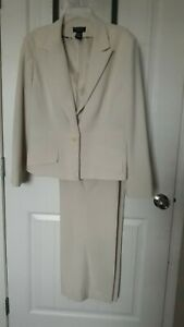 WORTHINGTON-Works-Stretch-Separates-Women-039-s-Pants-Suit-Long-Sleeves-Jacket-Sz-18