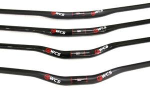 WCS-MTB-Downhill-bike-31-8-mm-handlebar-UD-Carbon-fiber-rise-bars-740-820-mm