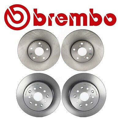 Set of 4 Brembo Brake Rotor/'s GS300 GS400 GS430 IS300 SC430 2-Front /& 2-Rear