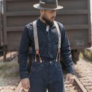 Bronson-Vintage-Wabash-Selvage-Denim-Work-Shirts-Striped-Work-wear-For-Men