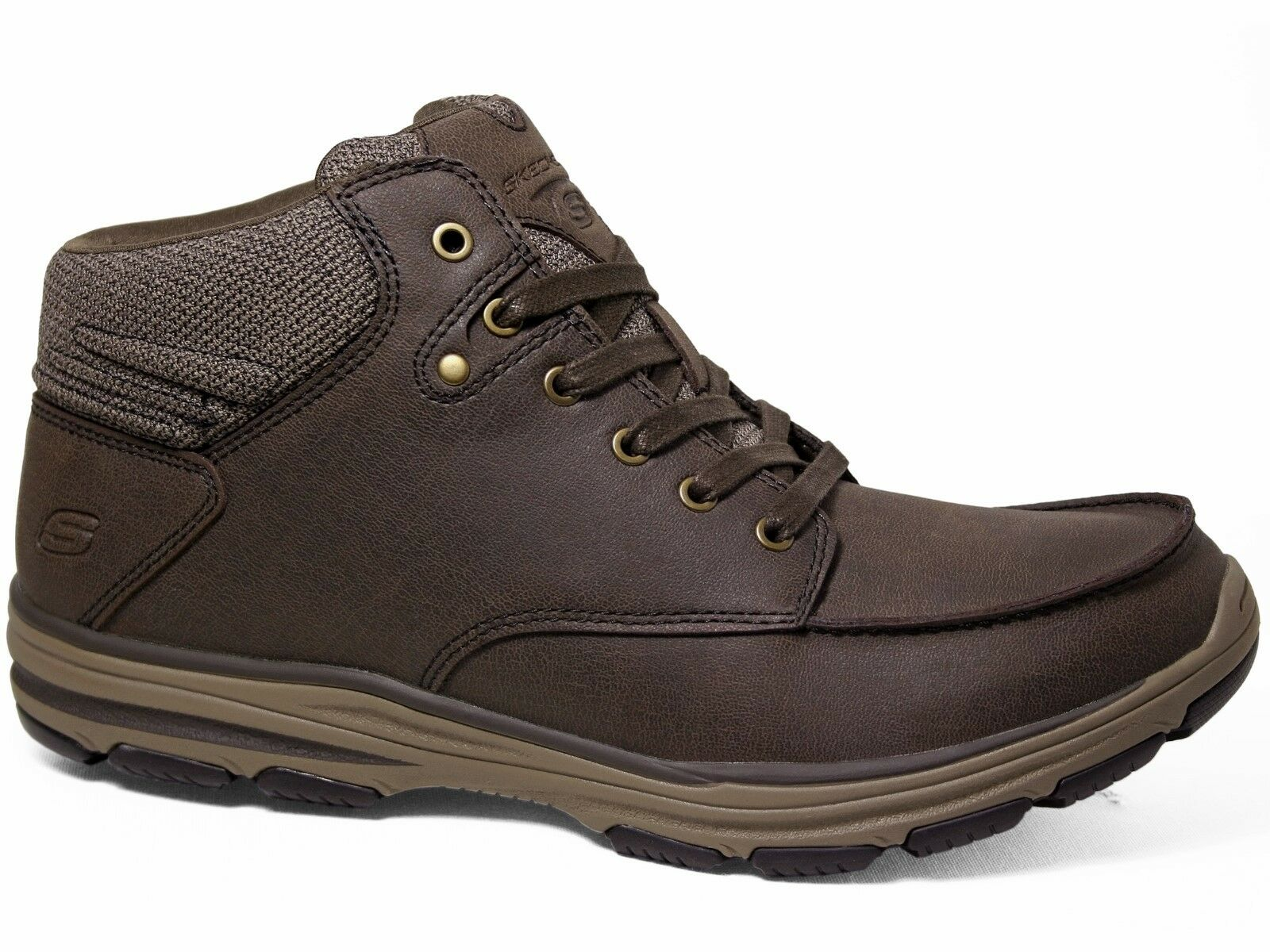 Skechers Skech-Air Garton Meleno Suede Boots Chocolate / Braun 65170/CHOC
