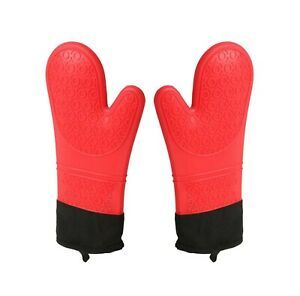 Heat Resistant Silicone Mitts