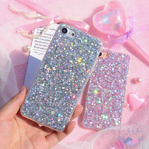 Bling-Glitter-Full-Sparkle-Protective-Cute-Slim-Fit-Phone-Case-Cover-For-iPhone