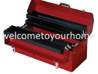Craftsman Tools 21 Steel Cantilever Portable Chest Box Case Storage Garage Red