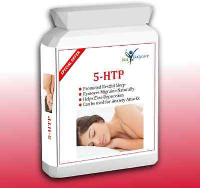 120  5HTP 100mg + Depression + Insomnia + Anxiety + Appetite Control + Serotonin
