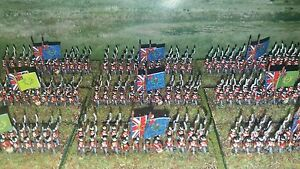 Details about 6mm Napoleonic British Infantry, Baccus Booster Pack