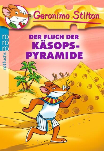 Der Fluch der Käsops-Pyramide von Geronimo Stilton (Taschenbuch), UNGELESEN