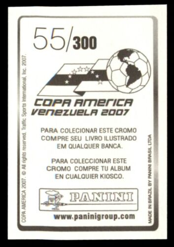 PANINI COPA AMERICA VENEZUELA 2007-GONZALO GALINDO Bolivie nº 55