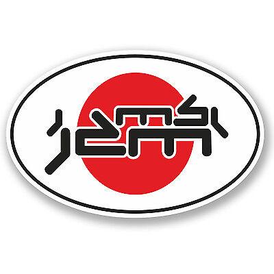 2 x 30cm Japan Drift Vinyl Sticker Cool Bumper Car Dub VW JDM Euro Fresh #4986