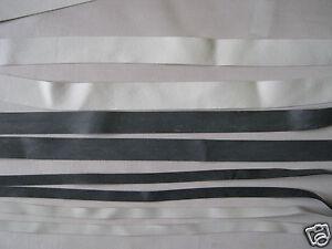 5m BLACK Fold Over elastic premium quality binding trimming lingerie 16mm width
