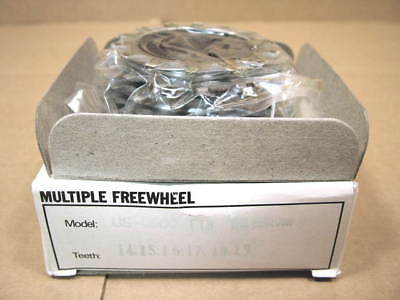 14x21 w//Silver Finish New-Old-Stock Suntour Pro-Compe Ultra 6-Speed Freewheel