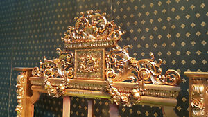 Luxury-Chatelet-Bed-Only-1-in-the-World-3D-Carving-Gold-Leaf-Mahogany