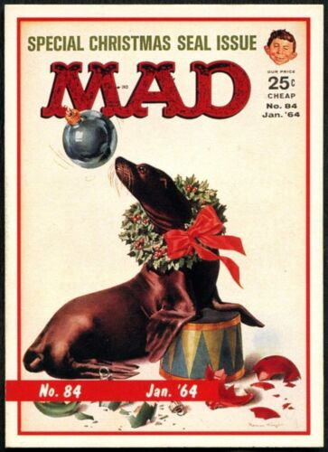 January 1964 #84 Mad Magazine Series 1 Lime Rock 1992 Trade Card C1409