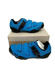 Giro Privateer R MTB Cycling Shoes Men's EU 41 US 8 Blue Jewel Mountain Bike NEW