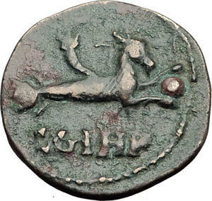 ELAGABALUS-218AD-Genuine-Parion-Parium-Mysia-Ancient-Roman-Coin-CAPRICORN-i64812