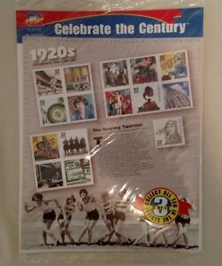 CELEBRATE-THE-CENTURY-COLLECTIBLE-STAMPS-3-OF-10-1920-039-S-FACTORY-SEALED