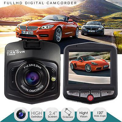 GT300 2.4 Full HD 1080P Car DVR Vehicle Camera Video Recorder Dash Cam G-senso
