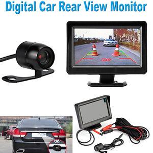 Systeme-de-vue-arriere-de-camera-de-recul-pour-voiture-Moniteur-LCD-TFT-4-3-034