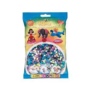 Bügelperlen Spielzeug Verantwortlich Hama Perlen Pastell Gemischt 3000 Stück
