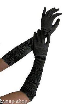 Lange Satinhandschuhe Abendhandschuhe Brauthandschuhe Damen Handschuhe Farbwahl