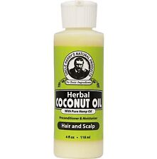 Uncle Harry's Herbal Coconut Oil For Hair & Scalp (4 fl oz)