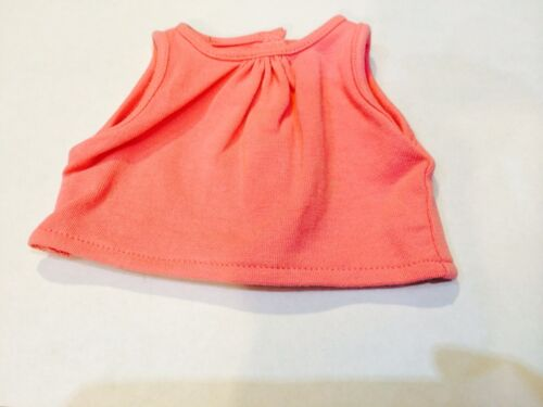 "American Girl Doll 18/"" Marisol Luna Retired Meet Outfit Pink Tank Top ONLY"
