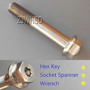 M12-x-1-25-x-70-Titanium-Ti-Screw-Bolt-Socket-Cap-Head-amp-Hexagon-Hex-Flange-Head