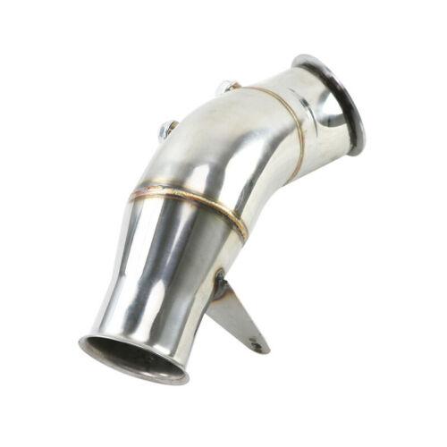 "4/"" katzenlos abajo tubos caso tubo para bmw 335i 435i m235i f30 f32 f22 2013"