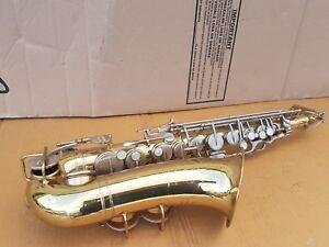 60's Martin Imperial Alt/alto Sax/saxophone-made In Usa-afficher Le Titre D'origine Avec Les éQuipements Et Les Techniques Les Plus Modernes