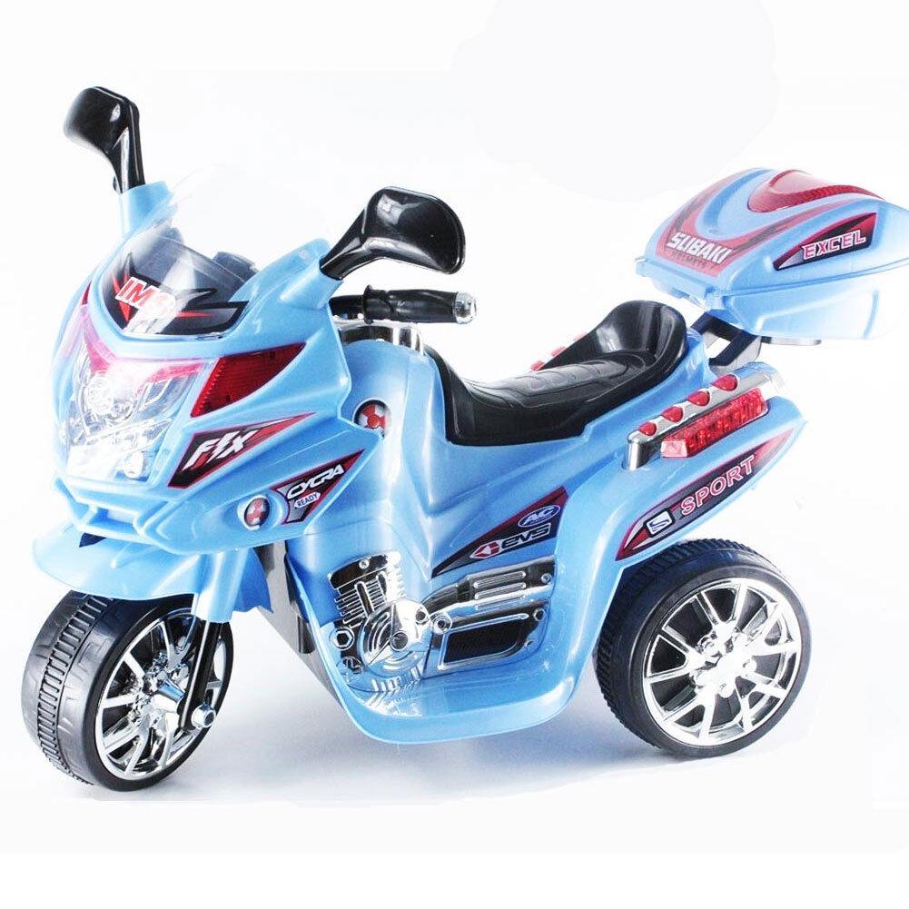 MINI MOTO ELETTRICA SCOOTER PER BAMBINI A BATTERIA 6V VIPER BLASTER ColorE azul