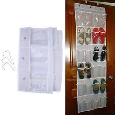 Schuhaufbewahrung Hängeaufbewahrung Hänge Schuh Halter Organizer 24 Tasche Neu