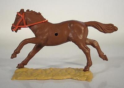 Timpo Toys langlaufendes Pferd in kakaobraun Rarität!!!