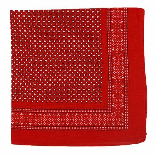 Vintage Lee Bandana Polka Dot Workwear en coton rouge Publicité Selvedge Cowboy