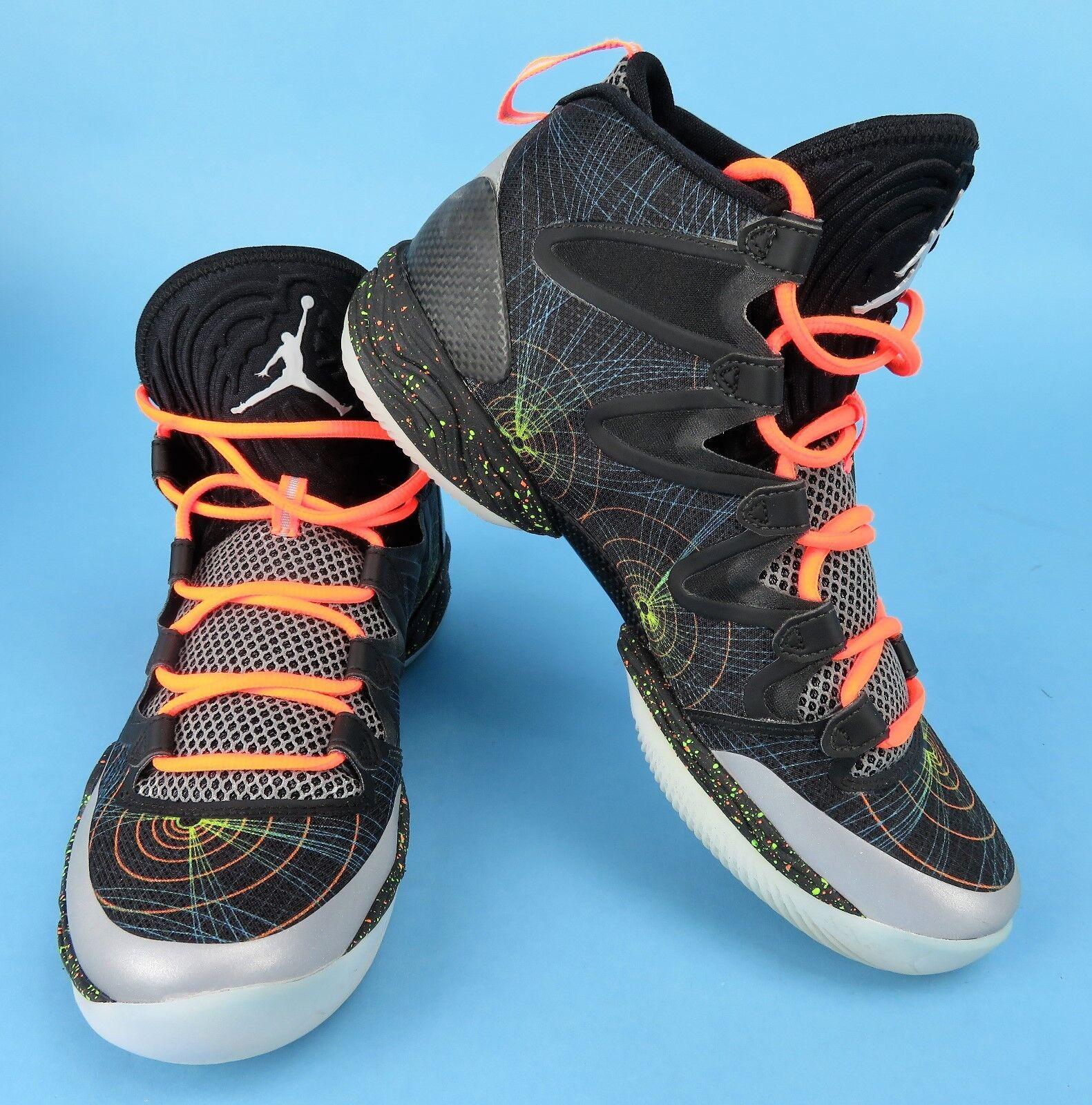 reputable site cc110 704f5 ... inexpensive nike air jordan xx8 se uk7 uk7 se 616345 025 schwarze  basketball trainer 41 orange ...