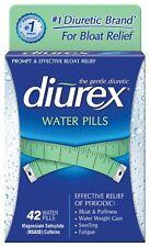 Diurex Diuretic Water Pills 42 Count Fatigue Swelling Weight Loss Bloat Puffines