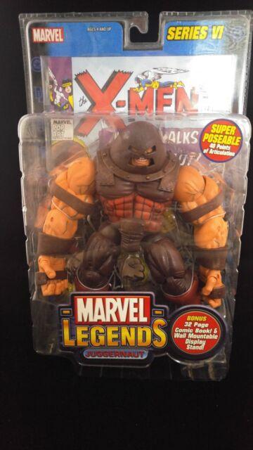 JUGGERNAUT Marvel Legends Series 6 Toy Biz MIP MOC 2004 Comic Book X-Men