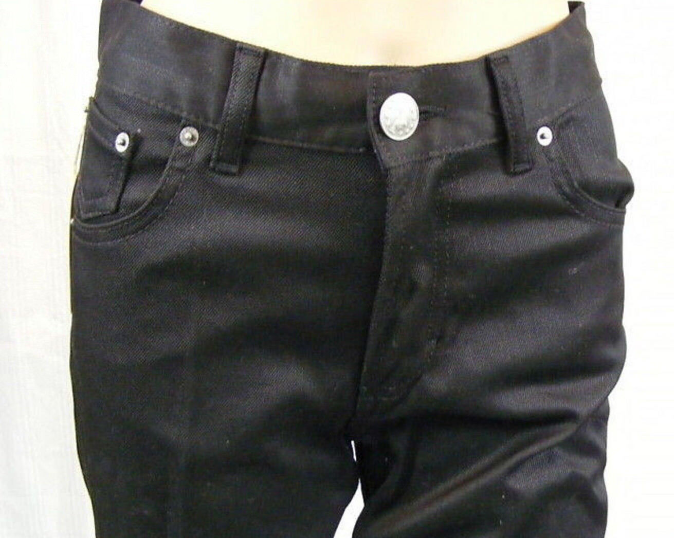 MARIA WESTERLIND   W28 L32  edle Designer Jeans  STYLISCH  schwarz  NEU 088af0